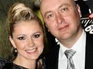 Monika Žídková s manželem Petrem Brzeskou - Česká Miss 2011
