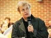 Dana Drábová na přednášce v Českých Budějovicích