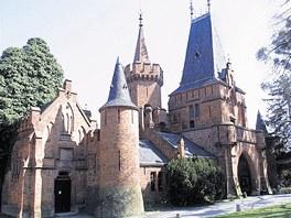 Z�mek Hradec nad Moravic� na Opavsku.