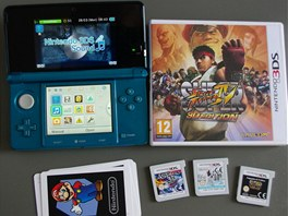 Nintendo 3DS, hra Street Fighter, AR karty pro rozšířenou realitu a herní karty