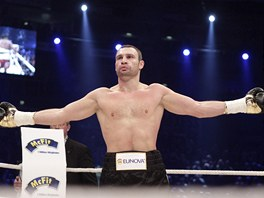 Vitalij Kličko obhájil titul mistra světa WBC v těžké váze (20. března 2011).