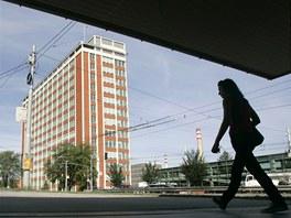 Baťův mrakodrap ve Zlíně.