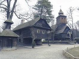 Vala�sk� muzeum v p��rod� v Ro�nov� pod Radho�t�m.