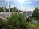 Na opraveném mostu přes Bystřici přibude po rekonstrukci olomouckého
