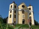 Kostel v Neratově v Orlických horách