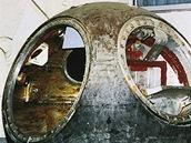 Vostok 3KA-2A vypuštěný v 25. března 1961. Na jeho palubě byl manekýn a pes...