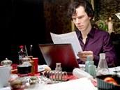 Ze série Sherlock - Benedict Cumberbatch