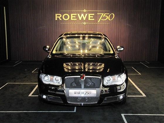 Základem nabídky je Roewe 750, kdysi velmi povedený Rover 75