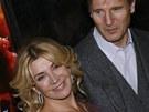Liam Neeson a Natascha Richardsonová v prosinci 2006