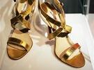 Z výstavy Vrcholy módy: Historie na podpatku - boty od Manola Blahnika
