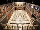 Kulisy Sixtinské kaple v ateliérech na pražském Barrandově pro seriál Borgia.