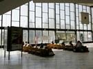 Vestibul vlakového nádraží v Havířově.