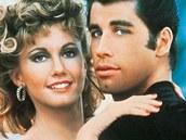 Z filmu Pomáda - Olivia Newton-John a John Travolta
