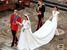 Královská svatba Kate Middletonové a prince Williama.(29. dubna 2011)