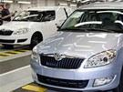Škoda Auto začala ve Vrchlabí montovat modely Škoda Roomster.