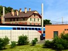 Vizualizace technického zázemí nové budovy nádraží v Ústí nad Orlicí