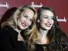 Jerry Hallová s dcerou Lizzy