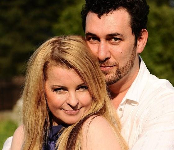 Iveta Barto�ov� a Domenico Martucci della Torre