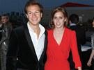 Princezna Beatrice s přítelem Davem Clarkem