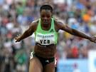 Veronica Campbellová-Brownová vyhrála běh na 100 metrů v nejlepším letošním světovém čase 10,76.