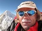 Radek Jaroš na vrcholu Lhoce (8516 m)