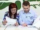 Doktorka Kateřina a Petr Havlíček v pořadu Jste to, co jíte
