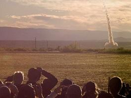 Test bezpe�nostn�ho syst�mu lodi Orion (a nyn� i MPCV), kter� m� astronauty katapultovat v p��pad� pot�� p�i startu