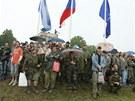 Vojenská přehlídka Bahna 2011 přilákala i v deštivém počasí čtyřicet tisíc diváků