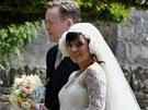 Zpěvačka Lily Allen se vdala za Sama Coopera (11. června 2011)