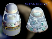 SpaceX Dragon - verze nákladní a pilotovaná