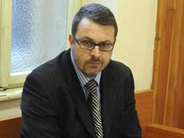 Bývalý radní Jan Stoklasa před soudním jednáním v Ostravě.