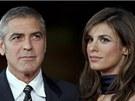 George Clooney a bývalá přítelkyně Elisabetta Canalisová