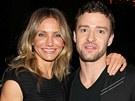 Herečka Cameron Diazová a Justin Timberlake