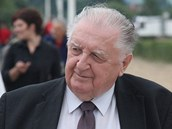 František Čuba na dostizích ve Slušovicích.
