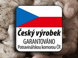 """Logo nového ocenění potravin """"Český výrobek""""."""