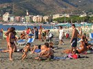 Pl v Sestri Levante u ztoky Baia delle Favole