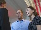 Princ William a jeho manželka Catherine v Kanadě (30. června 2011)