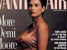 Těhotná Demi Moore na obálce časopisu Vanity Fair (srpen 1991)
