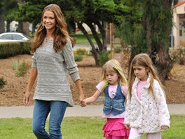 Denise Richardsov� s dcerami Sam a Lolou