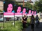 Plakáty Letní filmové školy v Uherském Hradišti.