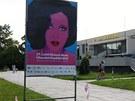 Plakát Letní filmové školy v Uherském Hradišti.