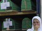 Dobytí enklávy Srebrenica bosenskosrbskými jednotkami a následný masakr tisíců
