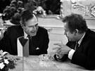 V roce 1990 nav�tívil Prahu také americký prezident George Bush, p�ízna�n�...