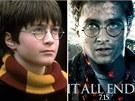 Herec Daniel Radcliffe s Harrym Potterem vyrostl.