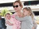 Nicole Kidmanová s dcerami (2011)