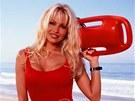 Pamela Andersonová v seriálu Pobřežní hlídka