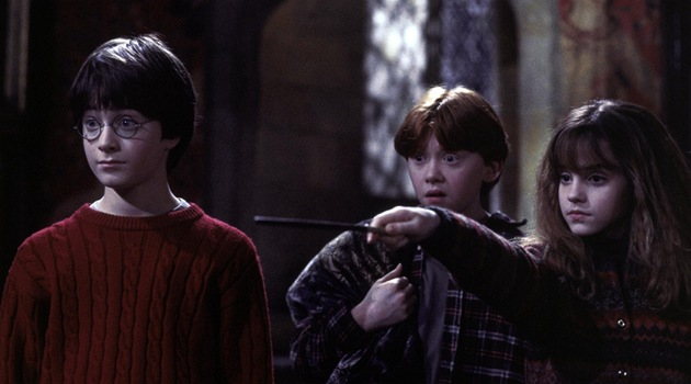 Z filmu Harry Potter a Kámen mudrc�