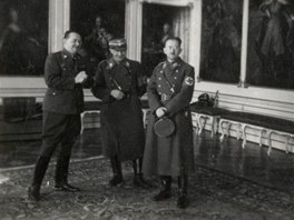 Čekání na Pražském hradě. Konrad Heinlein si mne radostí ruce (16. března 1939).
