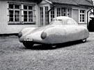 Jeden ze čtyř exemplářů závodního aerodynamického vozu KdF Typ 64, jeden