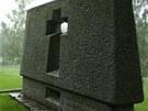 Pietní místo na místě vypálené osady Ležáky